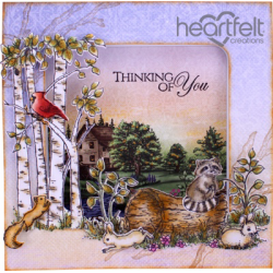 Heartfelt Creations Craft Dies- Woodsy Wonderland HCD1-7123