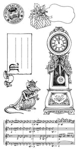 Graphic 45 Cling Mounted Rubber Stamps - Nutcracker Suite 3 (ICO206)
