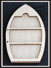 Load image into Gallery viewer, Clear Scraps- Wood Shaker Album- Boat (CSWASboat)