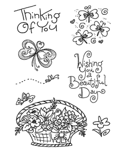 Inky Antics Rubber Stamps Clear Sets (11293MC)