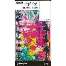 Dylusions by Dyan Reavely- Dyalog Insert Book- Blank #2 (DYT63469)