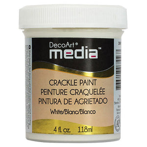 DecoArt Media Crackle Paint White DMM15