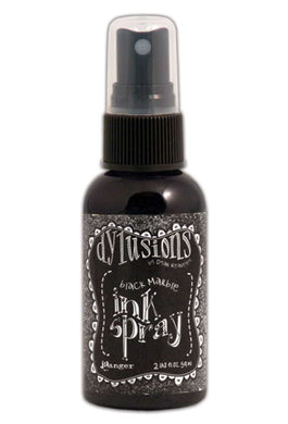 Dyan Reaveley Dylusions Black Marble Spray Ink DYC33837