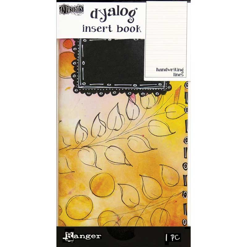 Dylusions by Dyan Reavely- Dyalog Insert Book- Handwriting Lines #2 (DYT63506)