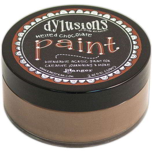 Dylusions Paint Melted Chocolate DYP46011