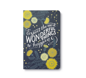 "Compendium Write Now- ""Expect the most wonderful things to happen..."" Journal (ETMWTTH)"