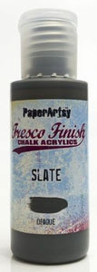 PaperArtsy Fresco Finish Chalk Acrylics Slate Opaque (FF84)