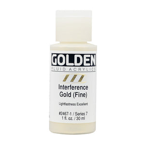 Golden Fluid Acrylics- Interference Gold (Fine) (2467-1)