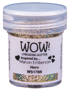 WOW! Embossing Glitter- Hero (WS178R)