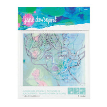 Load image into Gallery viewer, Spellbinders- Jane Davenport- Flower Girl Stencils (JD-017)