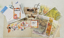 Load image into Gallery viewer, ESS August Traveler's Notebook Kit - Coffee & Books