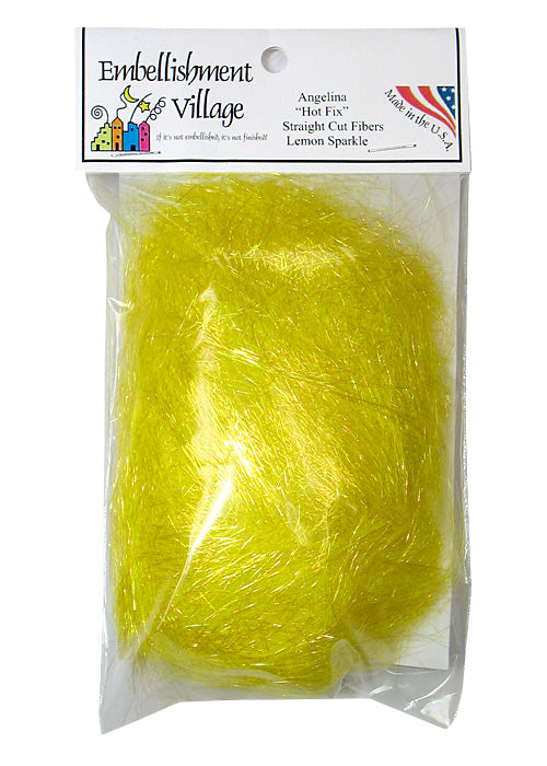 Angelina Straight Cut Fibers Lemon Sparkle (AG10329)