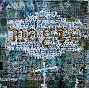 PaperArtsy Eclectica3 by Seth Apter - Magic (ESA17)