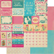 Load image into Gallery viewer, Authentique The Calendar Collection- May Paper Pack (CAL053)