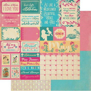 Authentique The Calendar Collection- May Paper Pack (CAL053)