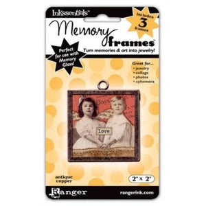 "Inkssentials Memory Frames by Ranger - Antique Copper 2"" x 2"" (MEM21698)"