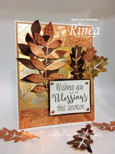 Load image into Gallery viewer, Rinea Metallics Foiled Paper Variety Pack (CP12V-MTL)