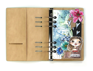 Elizabeth Craft Designs Planner Essentials- A5 Planner- Beach (P008)