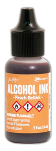 Ranger Tim Holtz- Alcohol Ink- Peach Bellini (TAL25658)