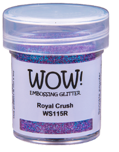 WOW! Embossing Glitter- Royal Crush (WS115R)
