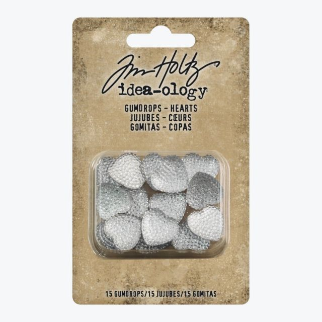 Tim Holtz Idea-ology- Gumdrops- Hearts (TH93681)
