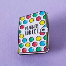 Load image into Gallery viewer, Punky Pins- Planner Addict Enamel Pin (861142)