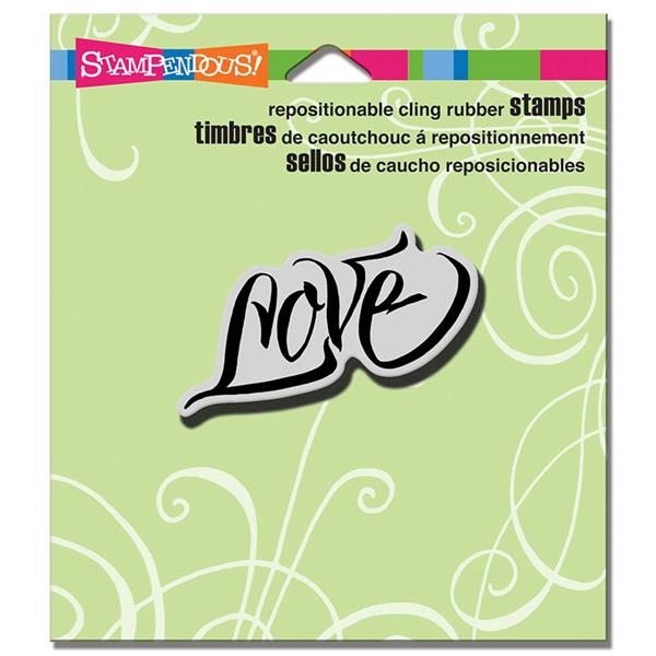 Stampendous! Fran's Cling Rubber Stamps - Penned Love (CRH314)