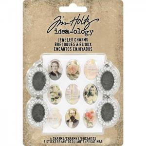 Tim Holtz Idea-ology- Jeweled Charms (TH93697)