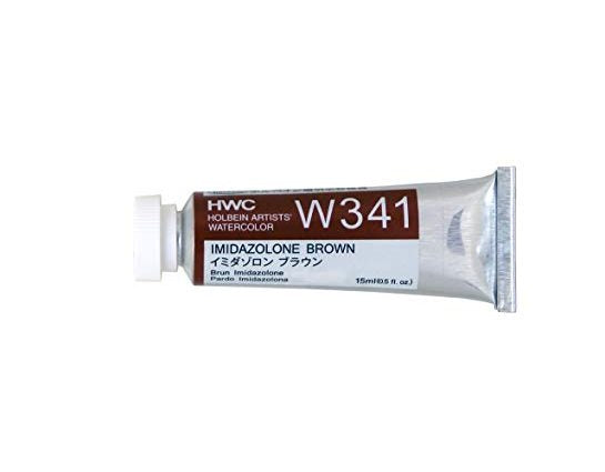 Holbein Artists' Watercolor- Imidazolone Brown (W341)