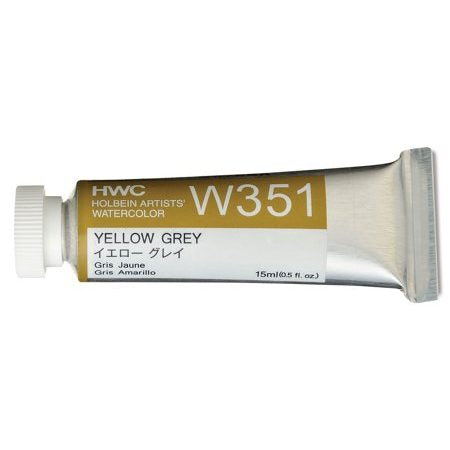 Holbein Artists' Watercolor- Yellow Grey (W351)