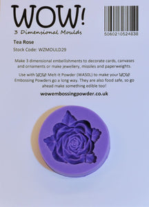 WOW! 3 Dimensional Moulds (Molds): Tea Rose
