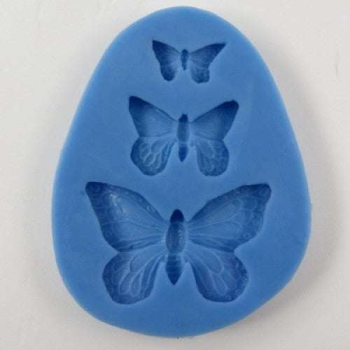WOW! 3 Dimensional Moulds (Molds): Butterfly Trio
