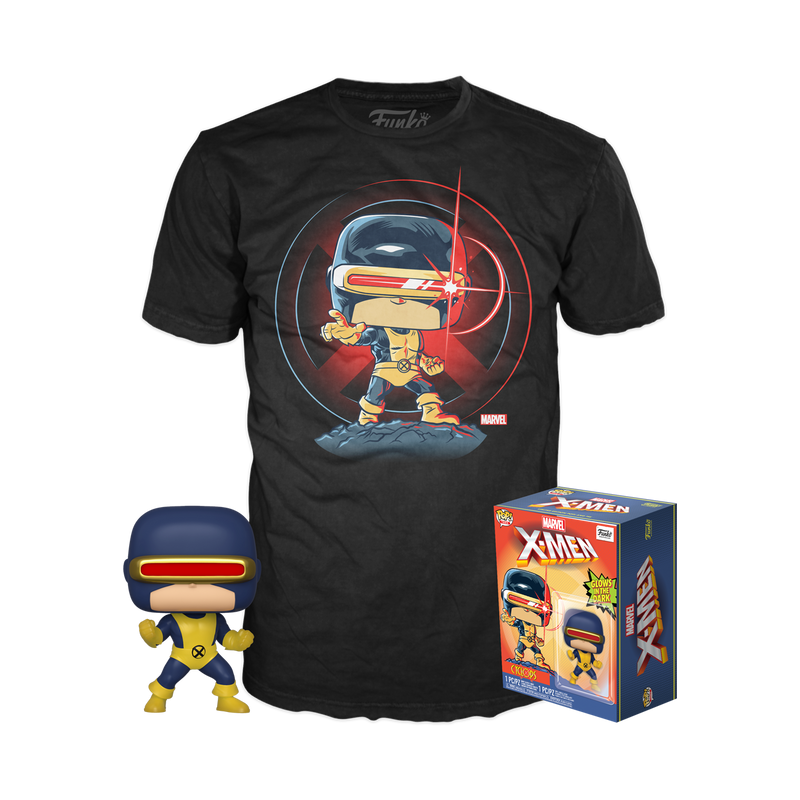 CYCLOPS (XL) GLOW IN THE DARK - MARVEL 80TH X-MEN