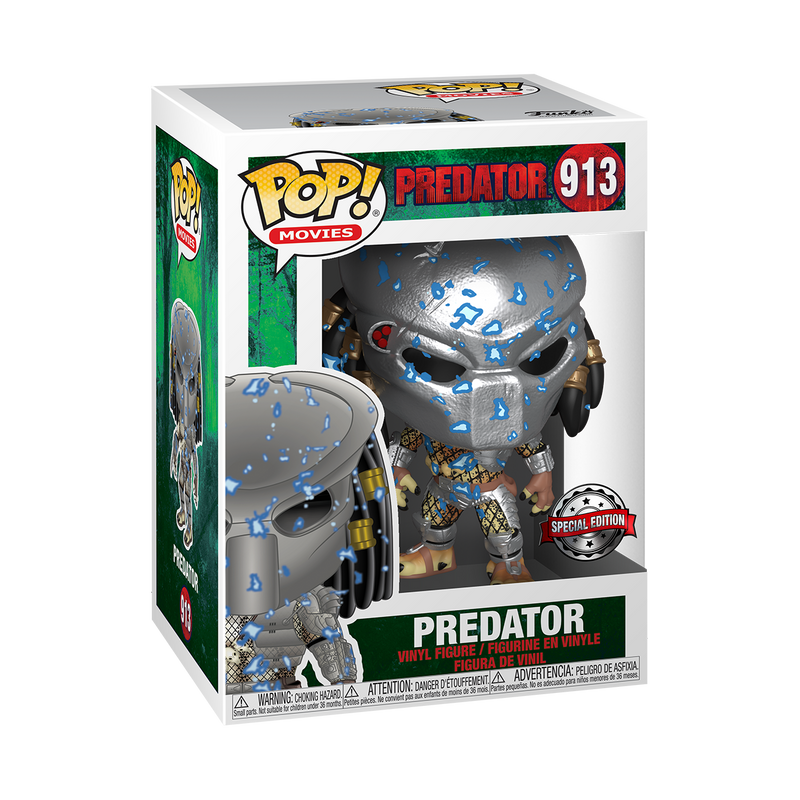 PREDATOR WITH ELECTRIC ARMOUR  - PREDATOR
