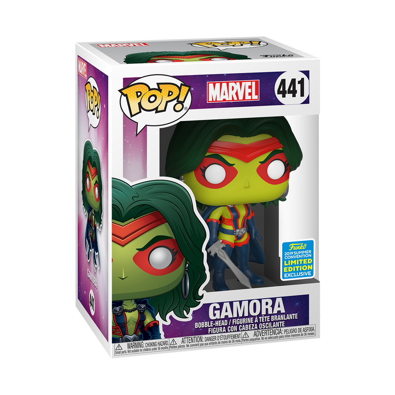 GAMORA - MARVEL COMICS