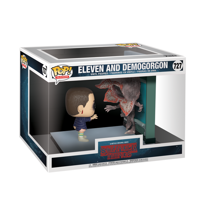 ELEVEN & DEMOGORGON - STRANGER THINGS