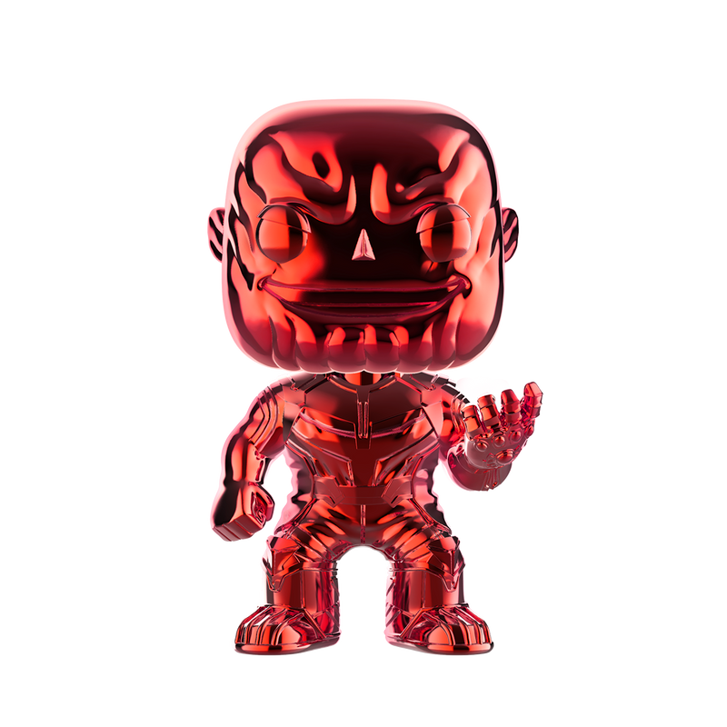 THANOS (CHROME RED) - AVENGERS INFINITY WARS