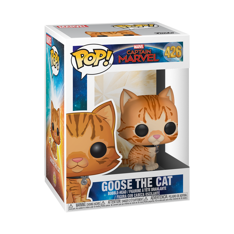 GOOSE THE CAT - CAPTAIN MARVEL