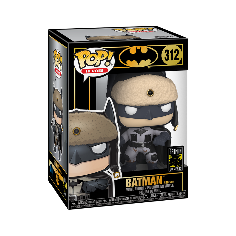 RED SON BATMAN - BATMAN'S 80TH