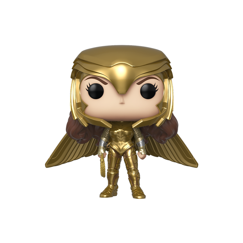 WONDER WOMAN (GOLDEN ARMOUR WIDE WING) - WW84