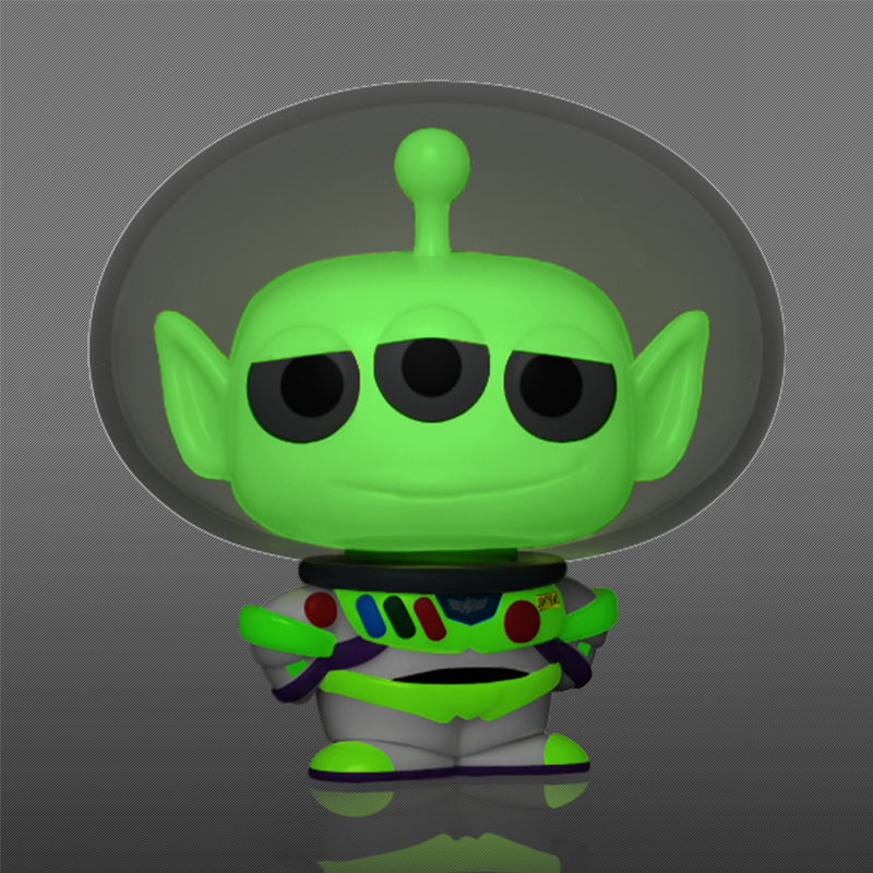 ALIEN AS BUZZ (GLOW IN THE DARK) (L) - PIXAR ALIEN REMIX