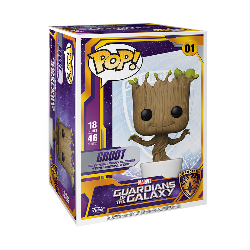 "18"" GROOT- GUARDIANS OF THE GALAXY"