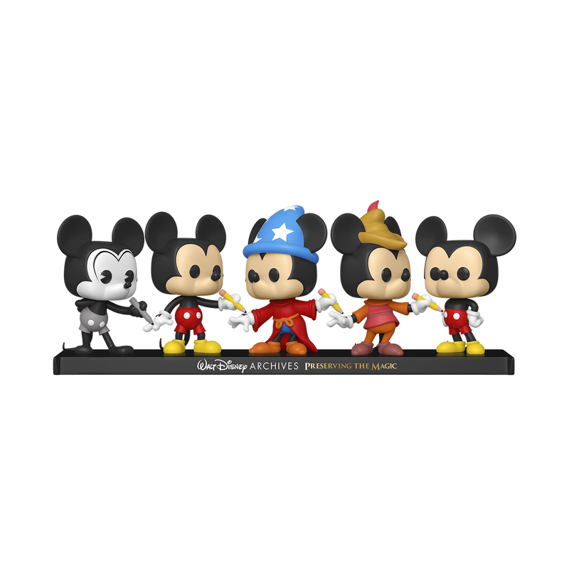 MICKEY MOUSE 5 PACK - DISNEY ARCHIVES
