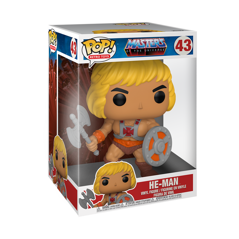 "10"" HE-MAN - MASTERS OF THE UNIVERSE"