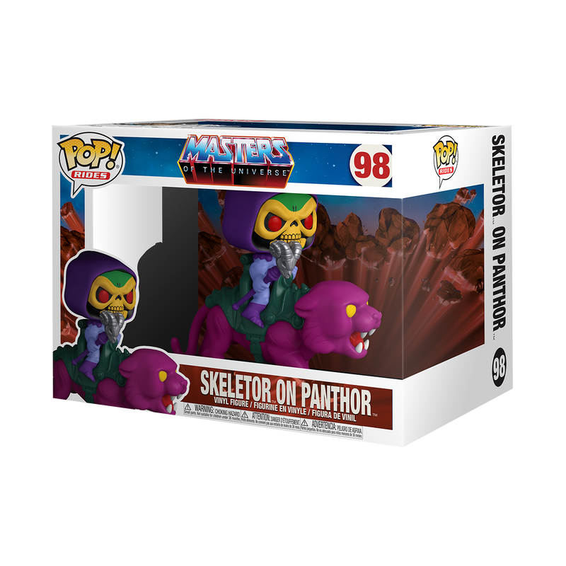 SKELETOR ON PANTHOR - MASTERS OF THE UNIVERSE