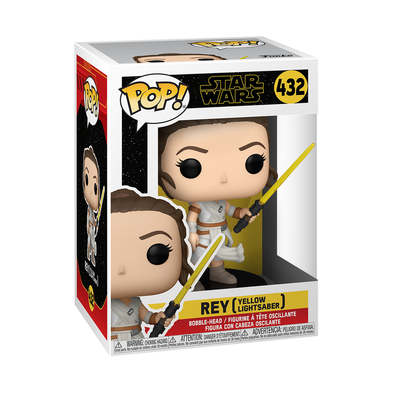 REY (YELLOW LIGHTSABER)  - STAR WARS: THE RISE OF SKYWALKER