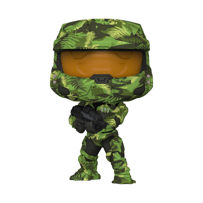 MASTER CHIEF WITH MA40 ASSAULT RIFFLE IN HYDRO DECO - HALO