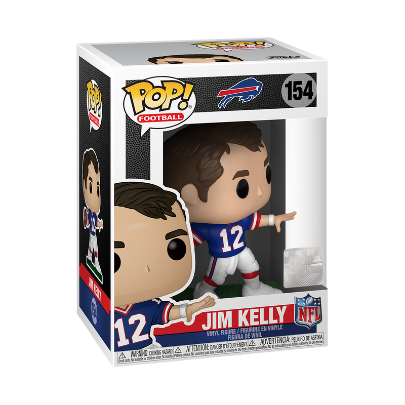 JIM KELLY - NFL: BILLS