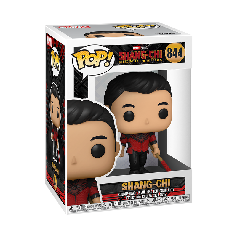 SHANG-CHI WITH BO STAFF - SHANG-CHI AND THE LEGEND OF THE TEN RINGS