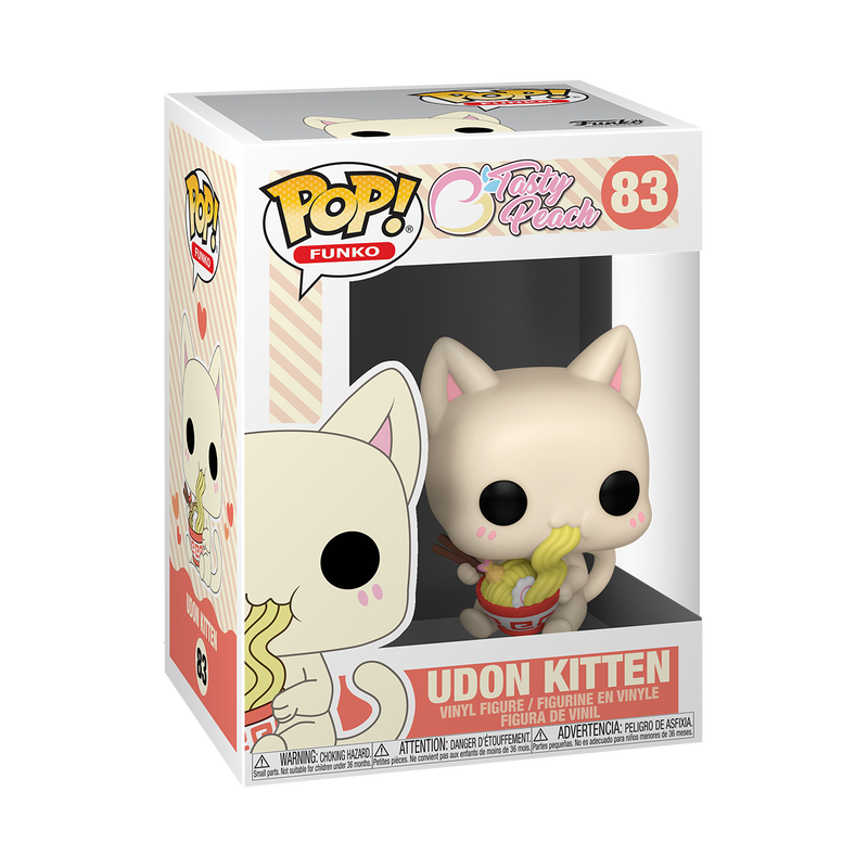 UDON KITTEN - TASTY PEACH